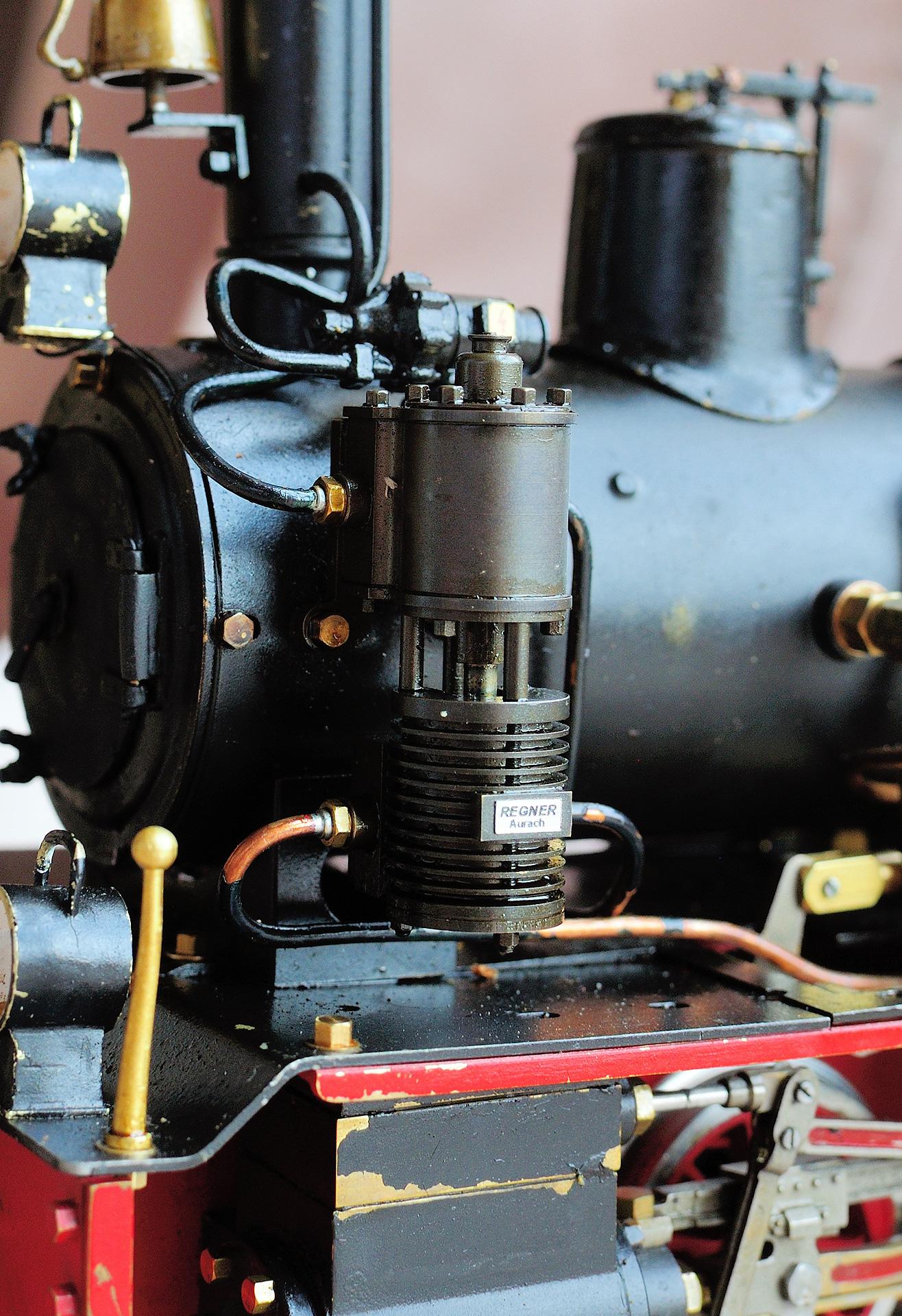 Dampfspeisepumpe an Regner C-Kuppler Kessel montieren